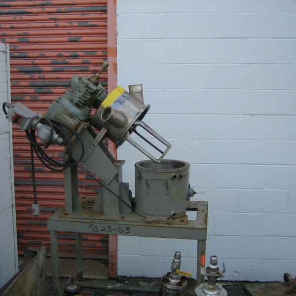 2 Gallon 3/4 HP Charles Ross Stainless Steel Planetary Mixer