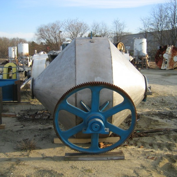 70 Cu. Ft. Abbe 304 Stainless Steel Double Cone Mixer