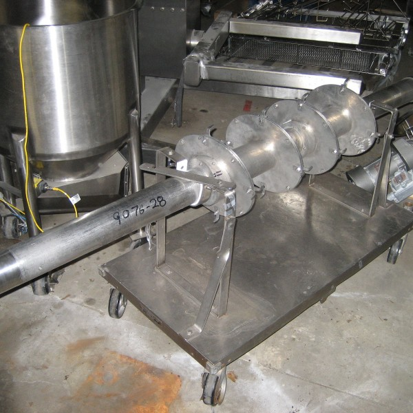 60 Cubic Foot Patterson Kelley Stainless Steel Liquid Solids Intensifier Bar