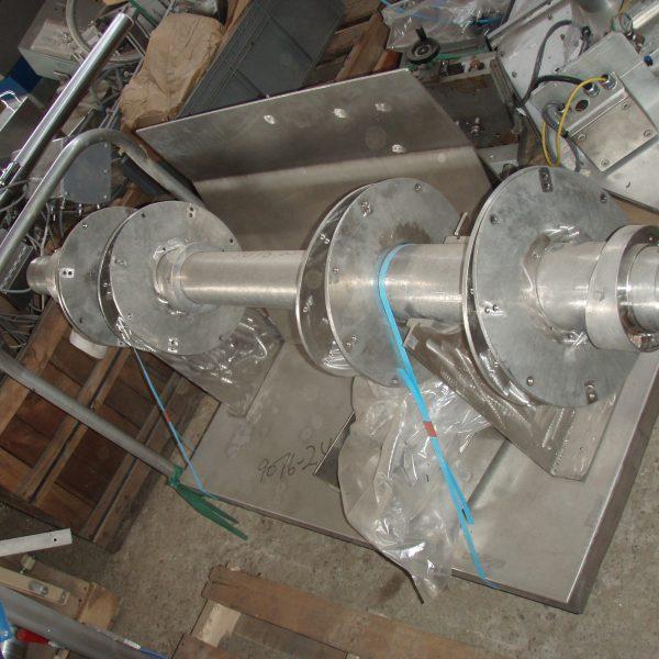 40 Cubic Foot Patterson Kelley Stainless Steel Liquid Solids Intensifier Bar