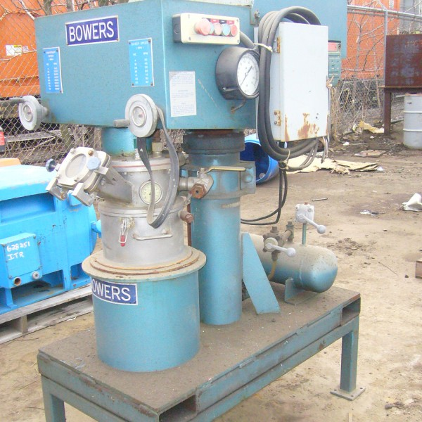 1 Gallon 1 HP Bowers Stainless Steel Planetary Mixer
