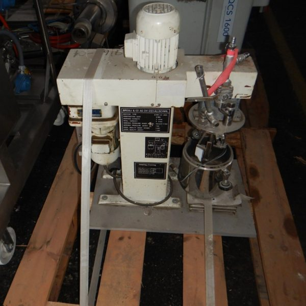 2 Liter Brogli Stainless Steel Multi-Homo Mixer/Homogenizer