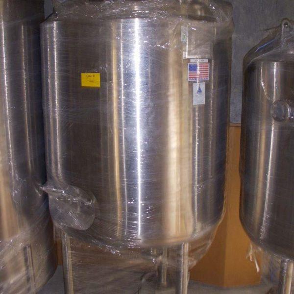 130 Gallon 50 PSI Internal, 65 PSI Jacket 316L Stainless Steel Reactor