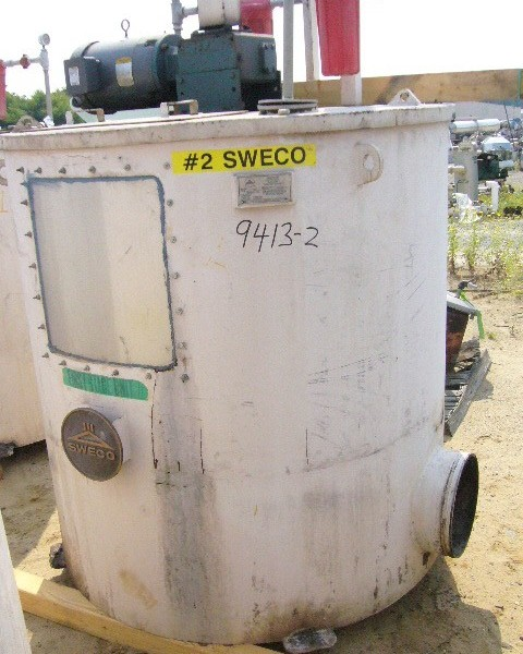 Sweco Model Carbon Steel 30S Whitewater Filter