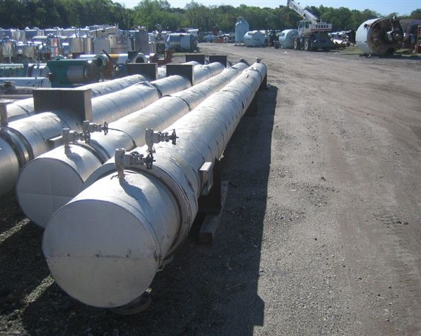 2500 Sq. Foot Atlas Shell and Tube Heat Exchanger
