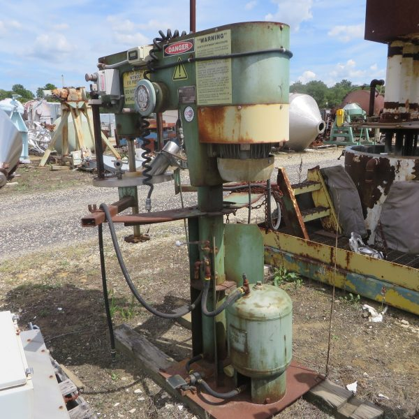 20 Gallon 5 HP Schold Stainless Steel Post Mixer
