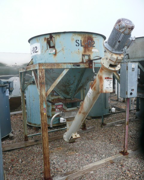 3000 Lb. Conair Insulated Drying Hopper