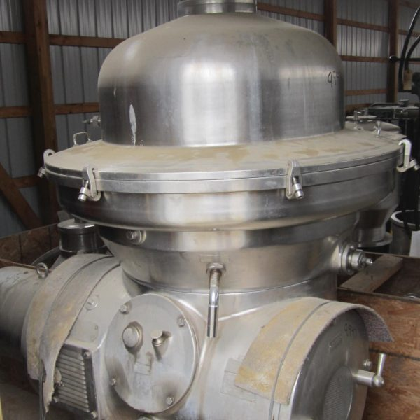 Westfalia Model MSA 100-01-076 Stainless Steel Separator Centrifuge