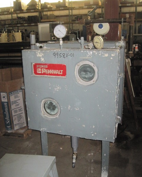 48 Sq. Foot, 8 Shelves Stokes 316 Stainless Steel Vacuum Shelf Dryer