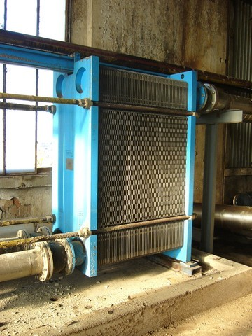 6 Bar GEA Plate Heat Exchanger