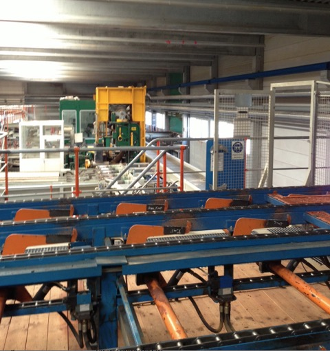 Concrete Production Plant : Used precast concrete production plant m