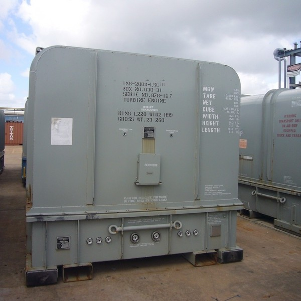 100,000 kw Natural Gas GE LMS100 System