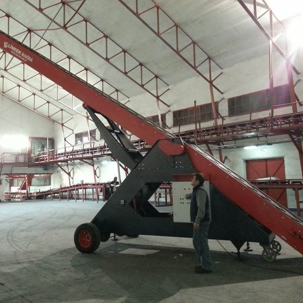 MOBILE SUGAR BAG STACKER WITH MAX HEIGHT 12M