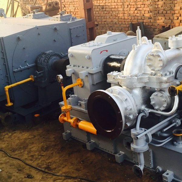 2000 kW Belliss Turbogenerator Set