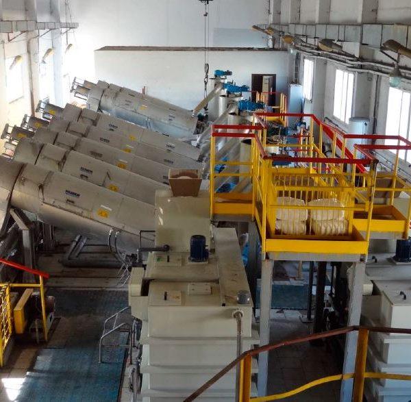 4 Ton/Hr Sludge Dewatering Plant