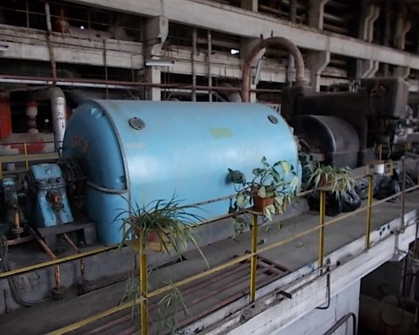 12000 kW 35 Bar Kaluga Turbogenerator Set