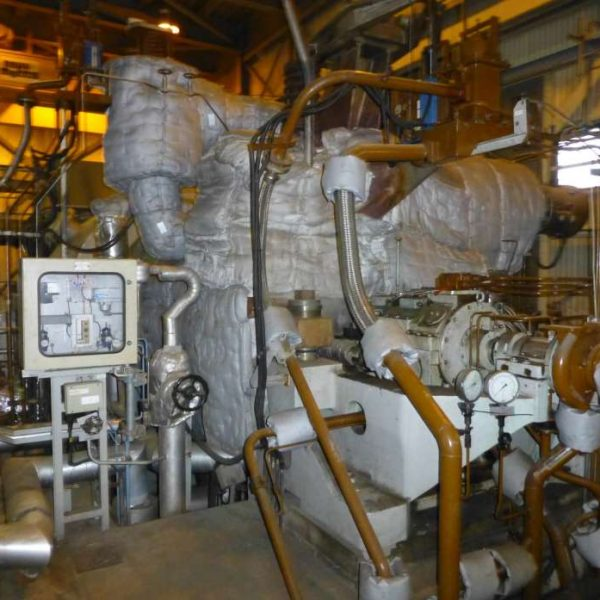 37000 kW 87 Bar Condensing Steam Turbine Generator