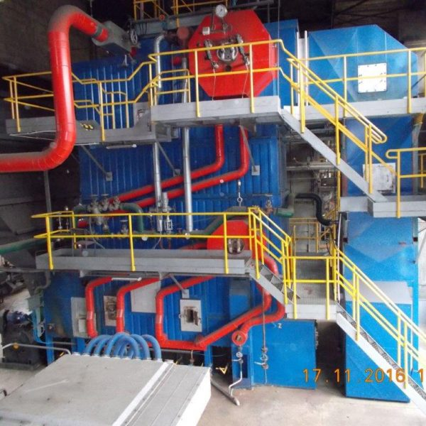 1500 kW 23 Bar Biomass Power Plant
