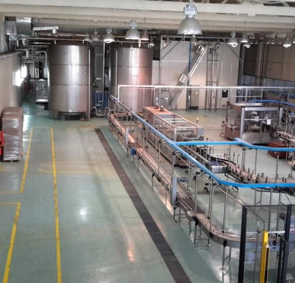Used GEA Procomac Aseptic Filling Line for 0.5 LTR and 1.0 LTR PET Bottles with the Capacity 18.000 Bottles per hour