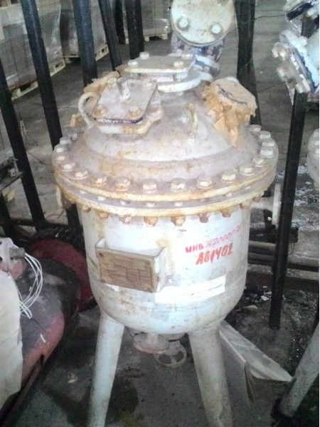 Used 50 Liter Glass Lined Reactor by Lampart, 6 Bar Internal Pressure, Temperature 200*C