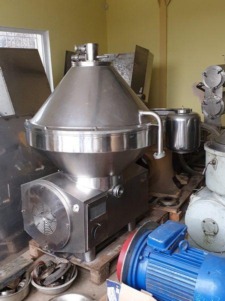 Nagema Model KMA-25 Milk Skimming Separator