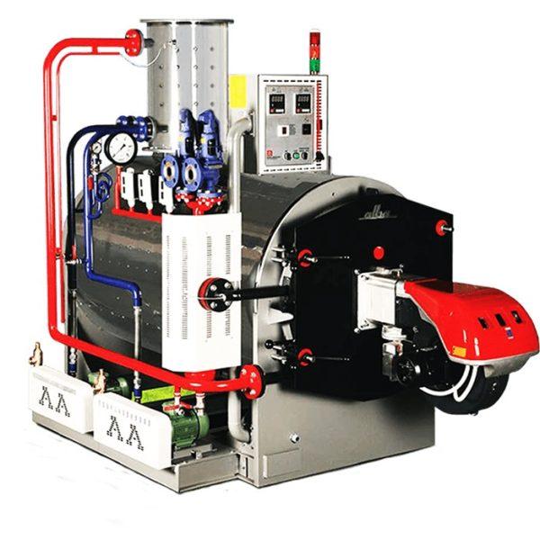1500 Kg/Hour 3 Bar Alba Steam Boiler
