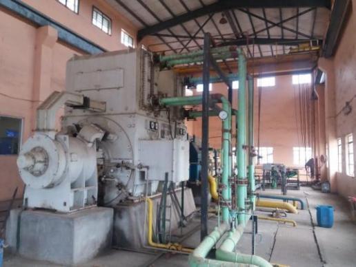 Used condensing Siemens Turbine Generator 10000 KW
