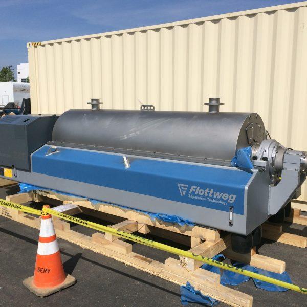 Flottweg Z6 Horizontal Stainless Steel Tricanter Centrifuge