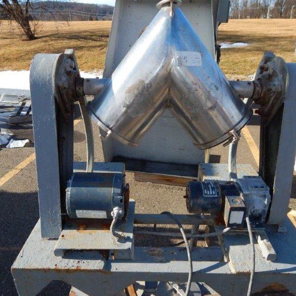 Stainless Steel V-Blender