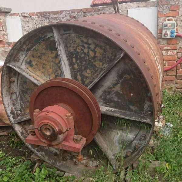 50″ X 40″  Carbon Steel Ball Mill