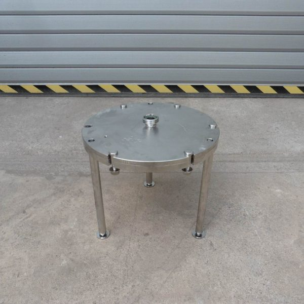 0.07 Sq. M. Seitz Stainless Steel Nutsche