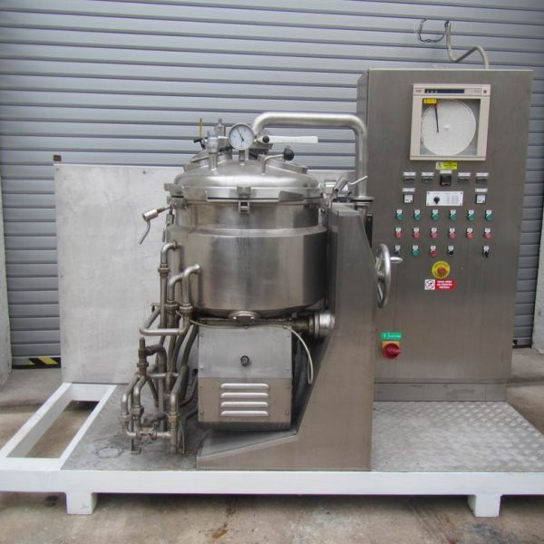 15 Gallon 5 HP Chemtech International Stainless Steel Mixer/Cooker