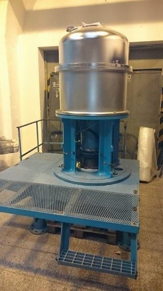"Alfa Laval Model CT-6 ""Centritherm"" Stainless Steel Centrifugal Evaporation Unit"