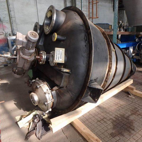 1,700 Litre Hosokawa MicronType 17 VDC-43 316 Stainless Steel Conical Mixer Dryer
