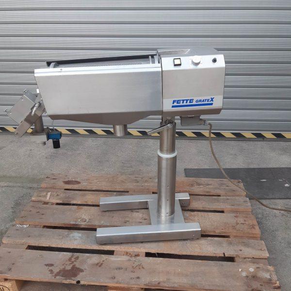 Fette Gratex Stainless Steel Rotary Tablet Deduster