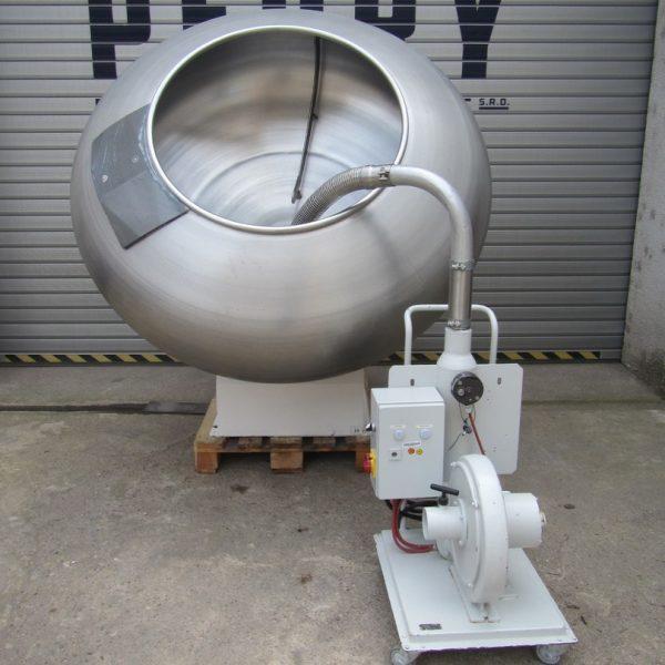 Walter Brucks Model X G Stainless Steel Coating Pan