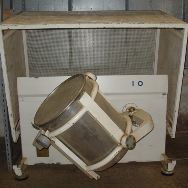 5 Cu. Ft. Staza Brno (Czech Republic) Type HSS120 Stainless Steel Container Mixer