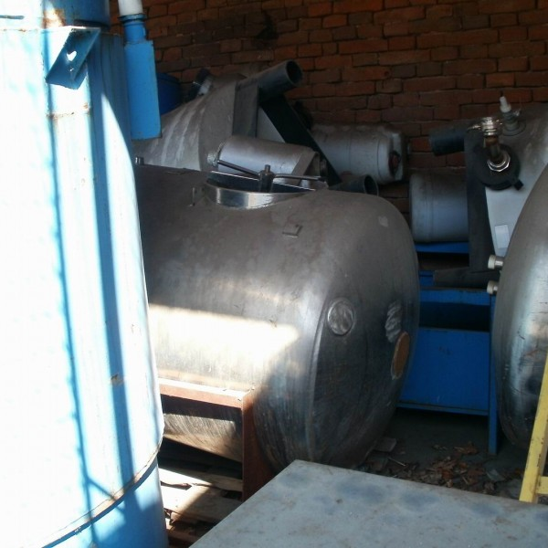 1000 Liters Stainless Steel Horizontal Tank