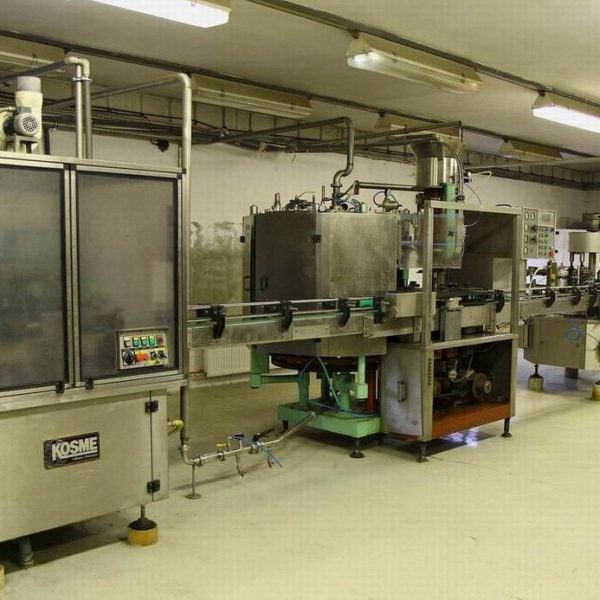 500-5000 BPH FILLING, CAPPING & LABELLING LINE 1