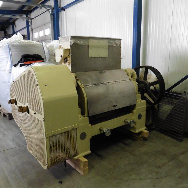 36″ Long 18″ Diameter, ER&F Turner 2-Roll Flaking Mill