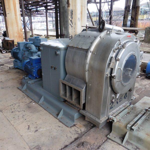 28″ Krauss Maffei SZ70 1-Stage Pusher Centrifuge