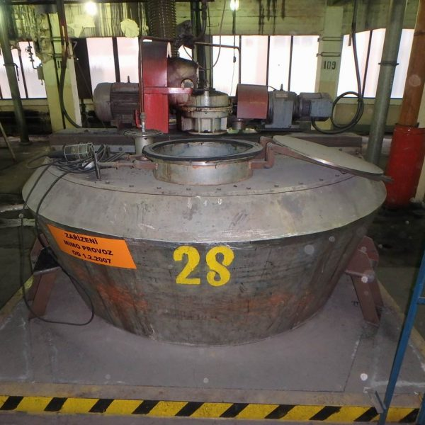 3600 Litre Nautamix MBC 40 R Stainless Steel Conical Powder Mixer