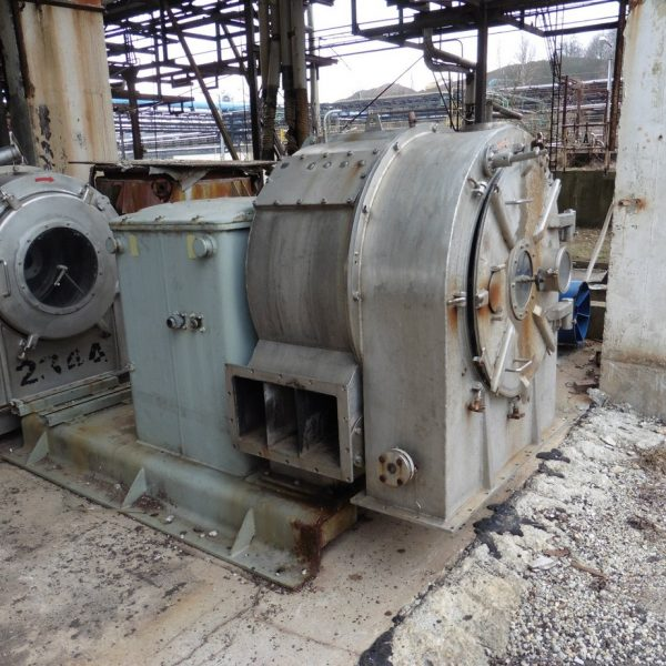 28″ Krauss Maffei SZ70 Pusher Centrifuge