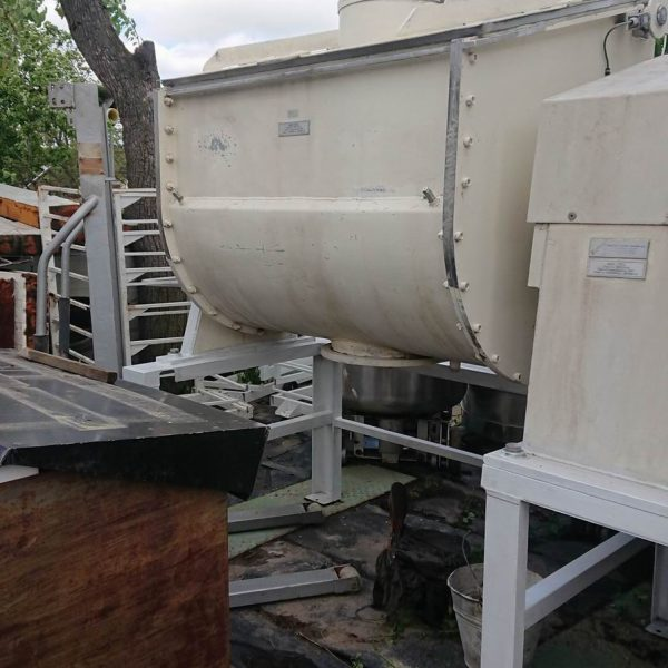 1,000 Litre Kreber B.V. Stainless Steel Ribbon Blender