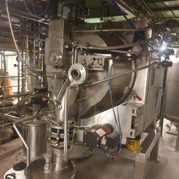 25″ Heinkel HS630 Peeler Centrifuge, Atex, Pharma