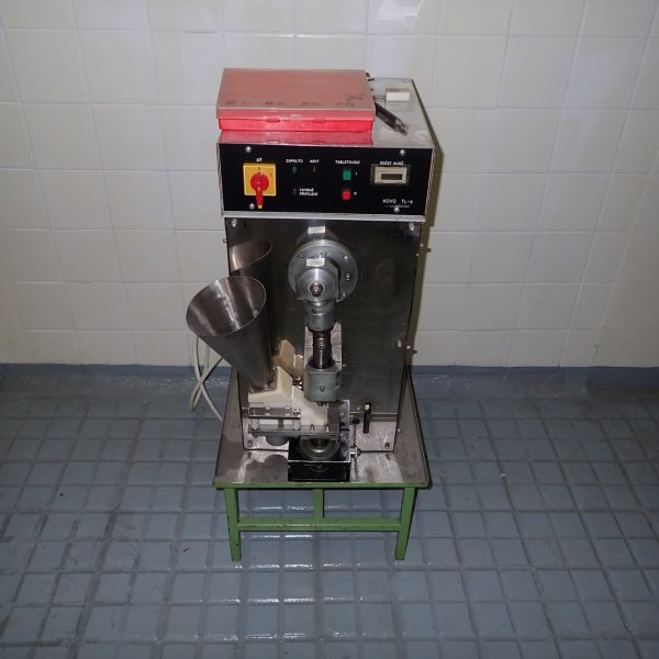 1 ton, Pharming Model TL-6 Single Punch Tablet Press