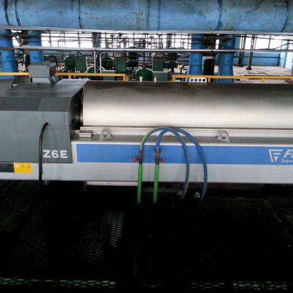 Flottweg Z6E-4/454 620mm Dia x 2580mm Long Horizontal Stainless Steel Decanter Centrifuge