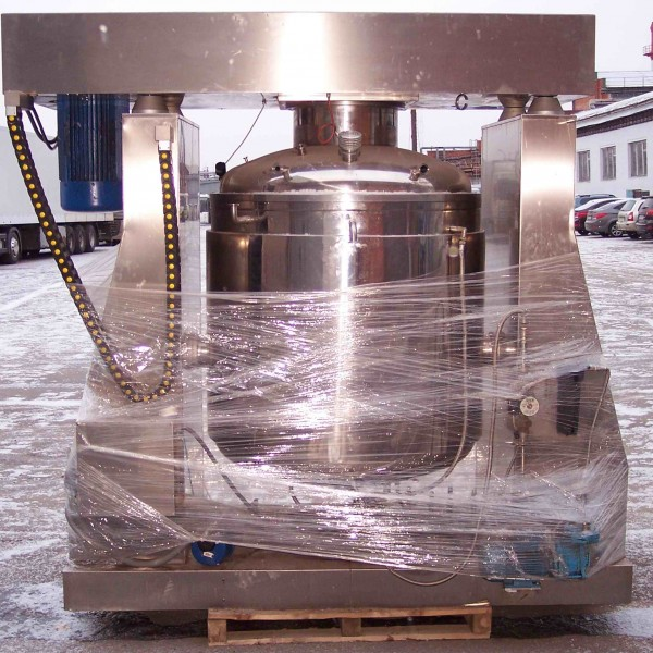 264 Gallon 27 HP Sogema Stainless Steel Vacuum Processing Mixer/Homogenizer