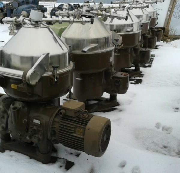 Nagema MZA 12/X Stainless Steel Separator