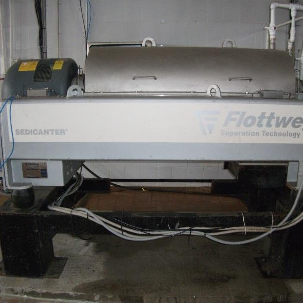 Flottweg S4E-3/408 Sedicanter Centrifuge